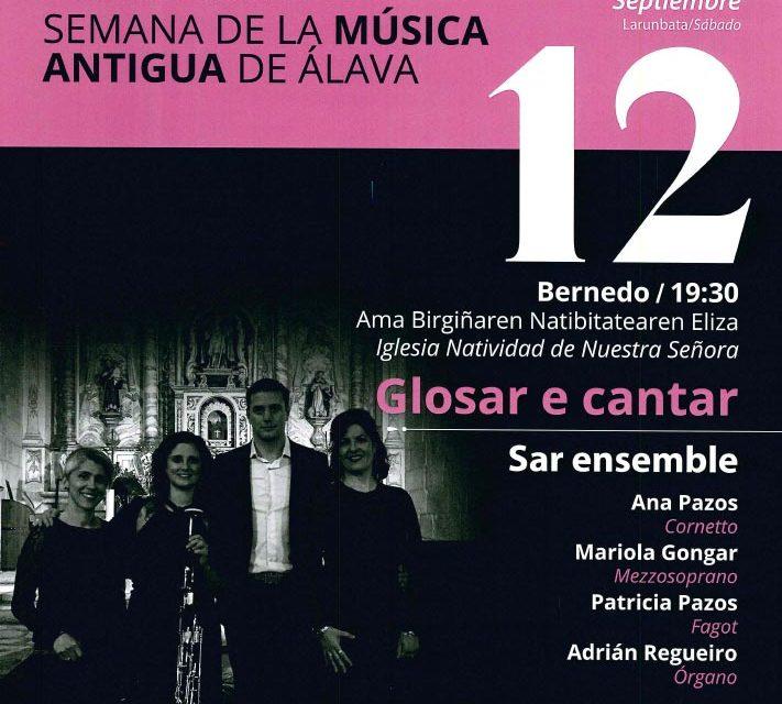 La 38 Semana de Música Antigua de Álava se clausura en Bernedo