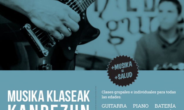 Musika klaseak – Taldegune Musika Eskola