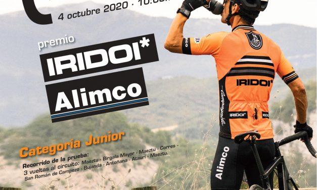El club ciclista K6 organiza la I Clásica Araba en Maeztu