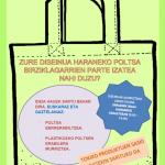 Concurso/Lehiaketa: Diseño de bolsas reciclables