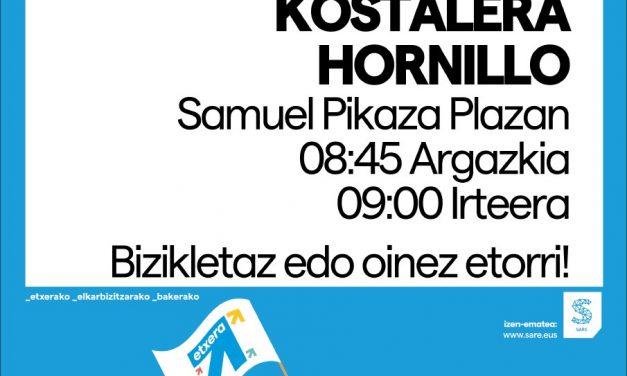 SARE convoca una subida a Ioar, Kostalera y Hornillo, sábado 3 de octubre