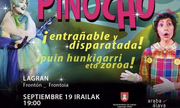 Teatro Ortzai Antzerkia: Pinocho