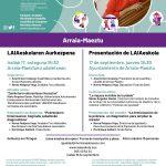 LaiaEskolaren aurkezpena – Presentación de LaiaEskola