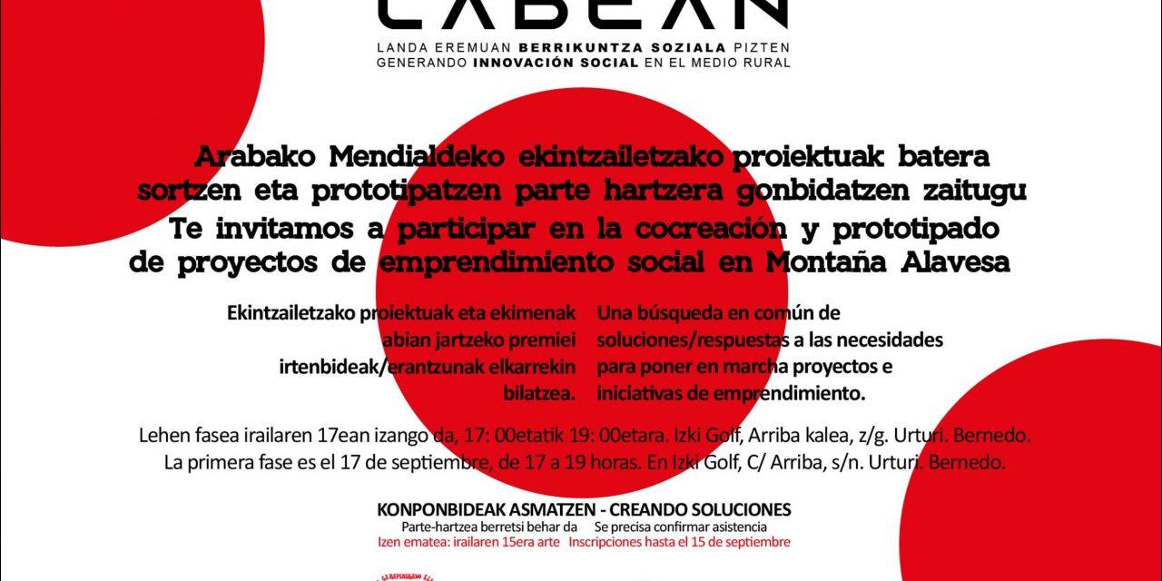 Cocreación y prototipado de proyectos de emprendimiento social en Montaña Alavesa