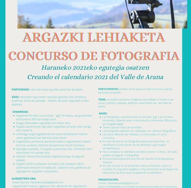 Concurso de fotografía – Argazki lehiaketa