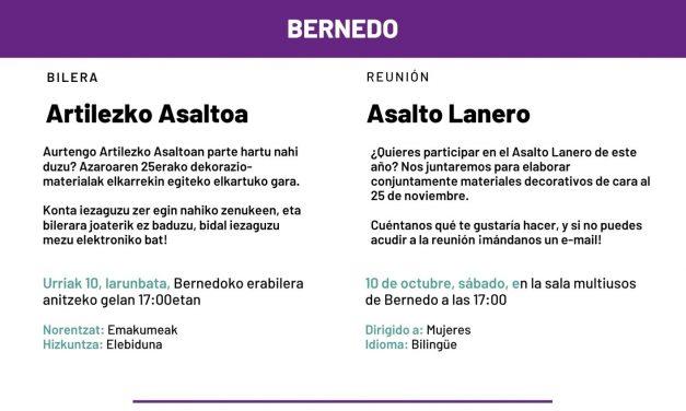 Reunión-Bilera: Asalto Lanero-Artilezko Asaltoa