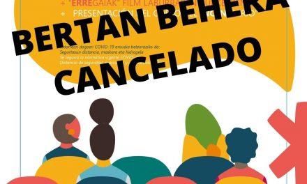 Cancelado – Bertan behera