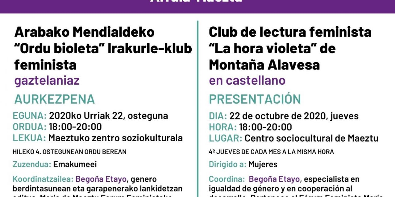 Club de lectura feminista – Irakurle-klub feminista