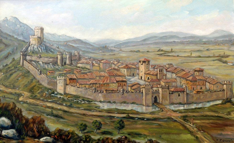 La fortaleza de Bernedo en la Edad Media