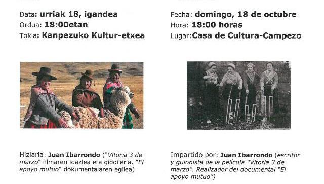 Taller intercultural: «El apoyo mutuo»