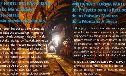 Recuperación de los Paisajes Mineros de Montaña Alavesa
