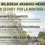 Rutas en Segway por la Montaña Alavesa