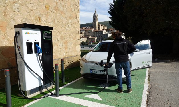 Antoñana entra en la red vasca de recarga de vehículos eléctricos