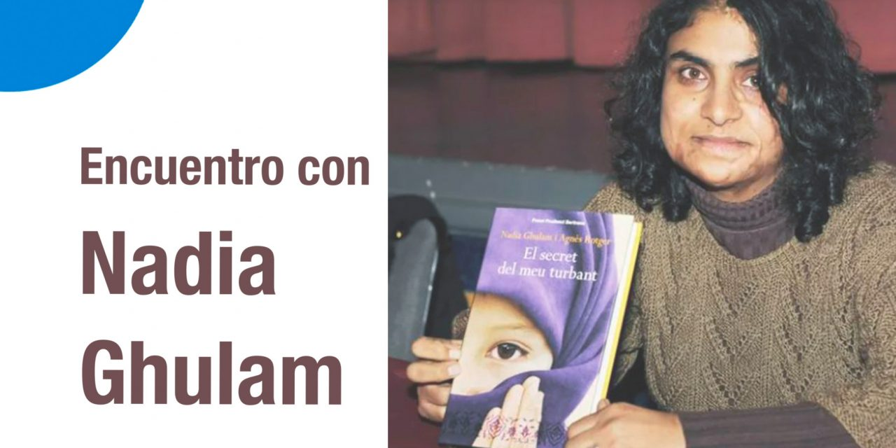 Encuentro con Nadia Ghulam topaketa