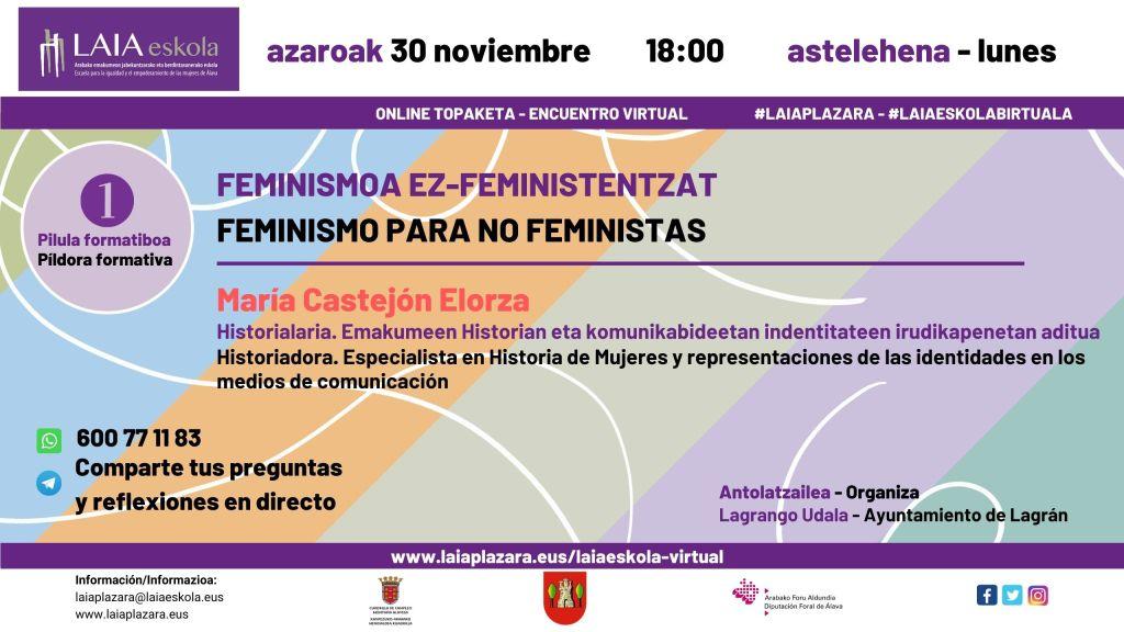 Feminismo para no feministas (I)