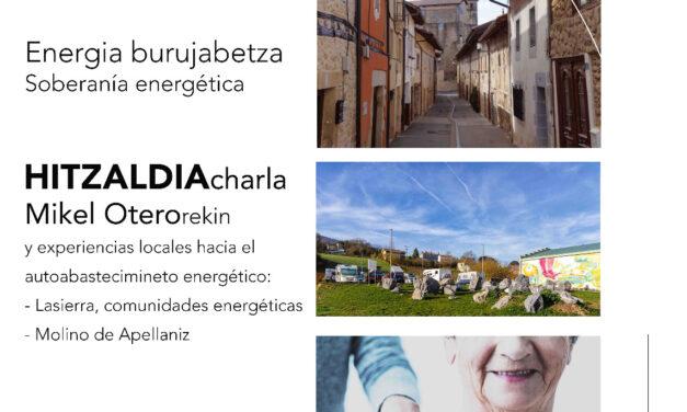 Charla-Hitzaldia:  Soberanía energética –  Energia burujabetza