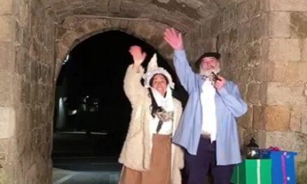Mari Domingi eta Olentzeroren mezua