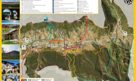 Mapa turístico del Valle de Arana