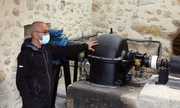 Una minihidráulica abastecerá con energía sostenible el alumbrado público de Apellaniz
