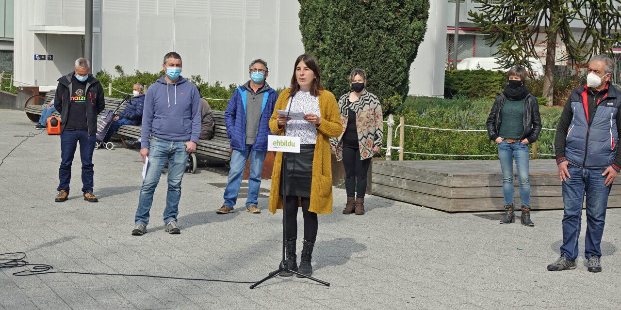 EH Bildu propone en Arraia-Maeztu presentar alegaciones conjuntas al proyecto eólico de Iturrieta