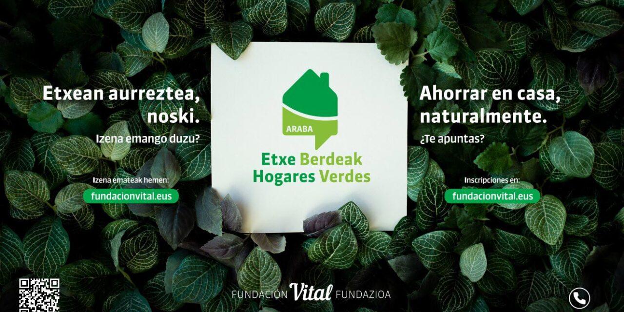 Programa Etxe Berdeak Hogares Verdes Araba