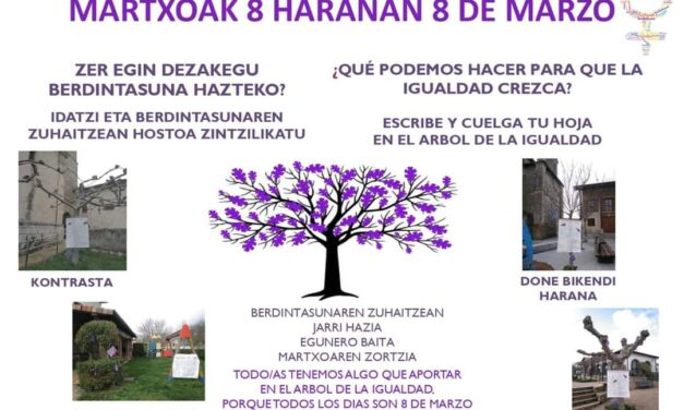 Martxoak 8 Haranan 8 de marzo