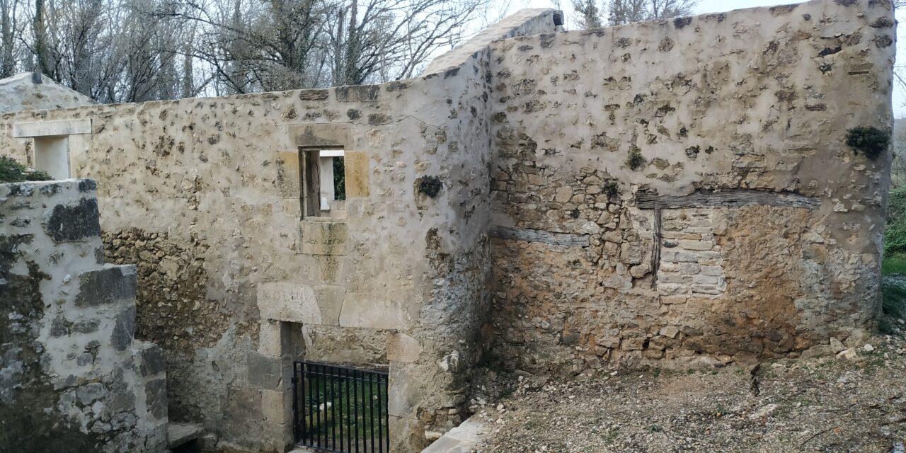 Finalizan los trabajos de recuperación en el molino de El Soto de Navarrete.