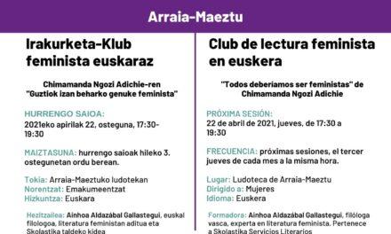 Irakurketa-Klub feminista euskaraz