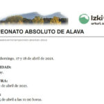 Campeonato absoluto de Álava de golf