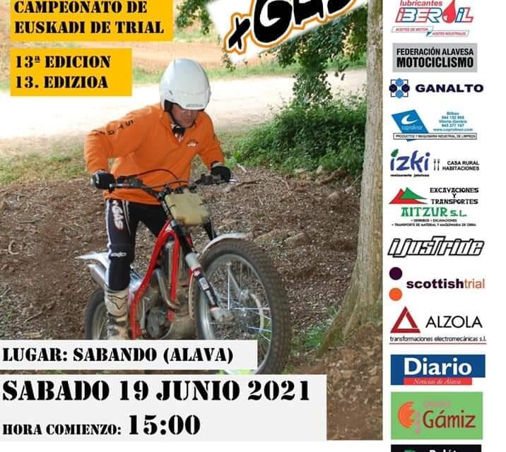 Trial de Sabando – Campeonato de Euskadi de Trial