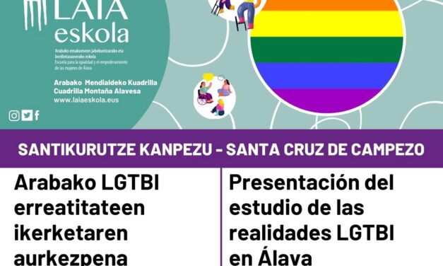 Presentación del estudio de las realidades LGTBI en Álava
