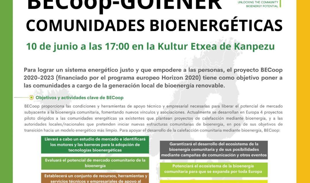 BECoop-Goiener – Comunidades Bioenergéticas