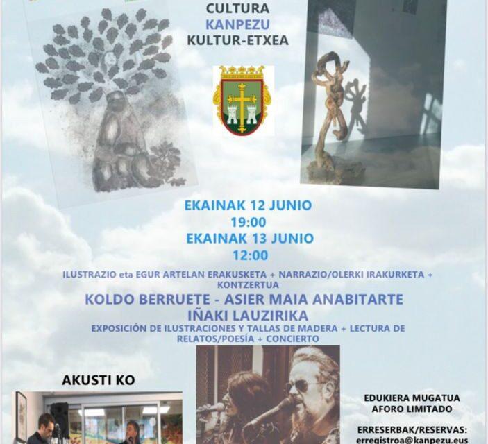 Exposición, lectura & concierto