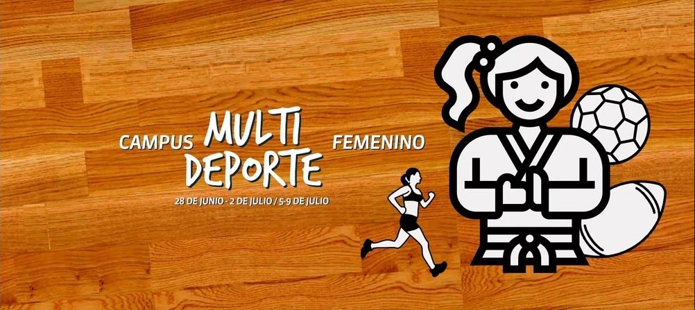 Campus de multideporte femenino – Emakumezkoen kirol anitzeko Kanpusa