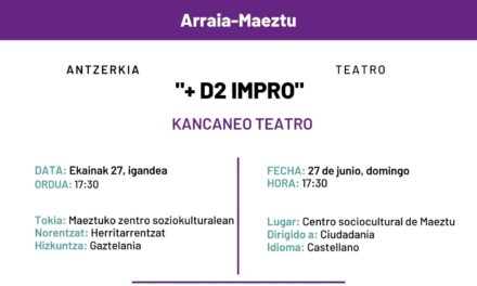 Teatro-Antzerkia: +D2 IMPRO