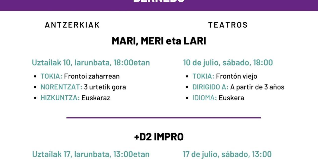 Antzerkiak – Teatros
