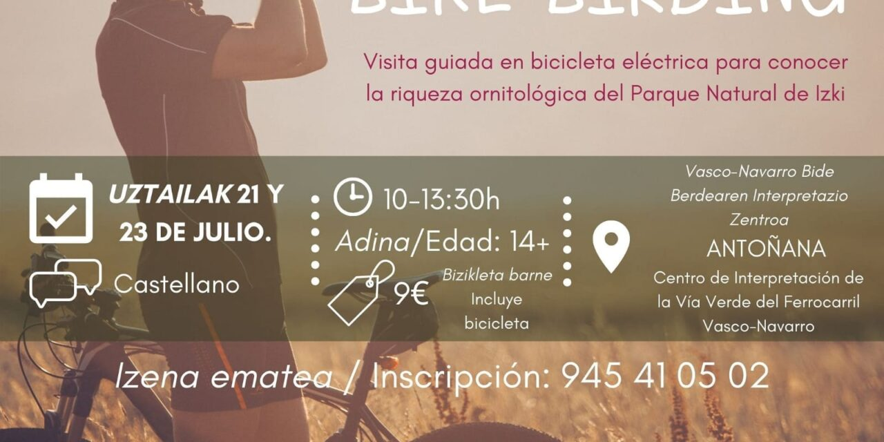Bike Birding: Visita guiada – Visita gidatua