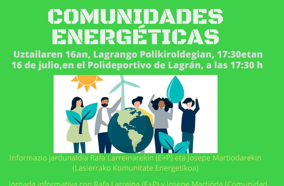 Comunidades energéticas – Komunitate energetikoak