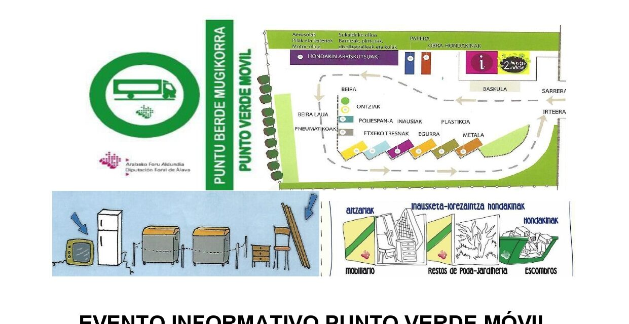 Evento informativo Punto Verde Móvil Antoñana
