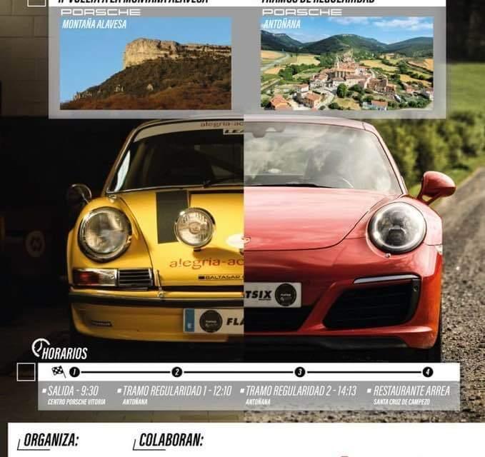 II Vuelta a la Montaña Alavesa Porsche Club