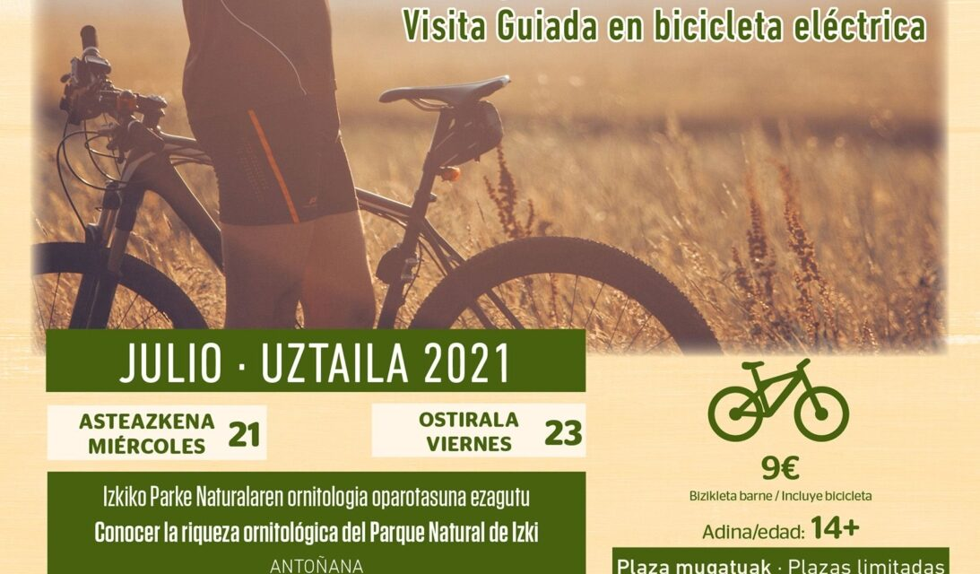 Bike Birding: visitas guiadas en bicicleta eléctrica