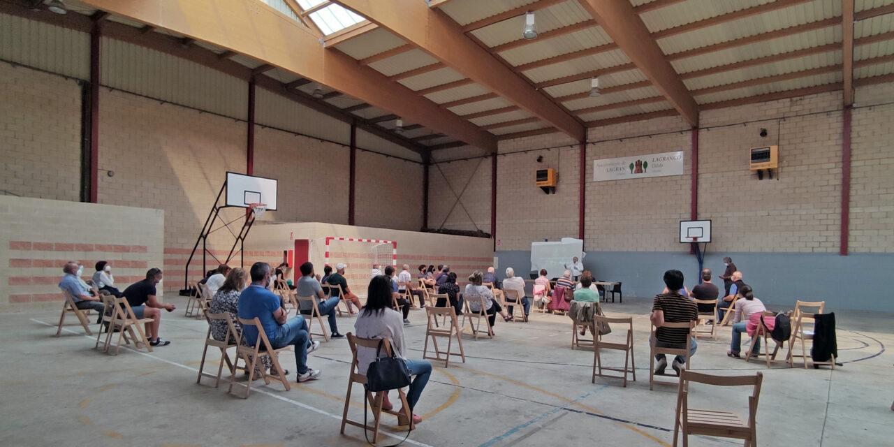 Entidades públicas y un grupo vecinal de Lagrán estudian posibilidades de crear comunidades energéticas