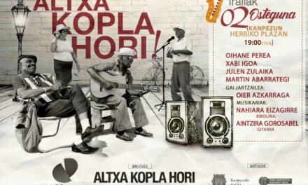 Altxa Kopla Hori! (Kanpezu, irailak 2 de septiembre)