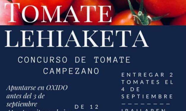 Kanpezuko II. Tomate Lehiaketa. 2° Concurso de Tomate Campezano.