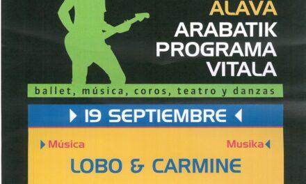 Lobo & Carmine (Antoñana, irailak 19 de septiembre)