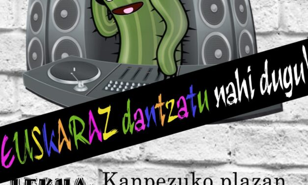 DJ Kaktus umeentzako dantzaldia (Irailak 17 de septiembre)