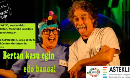 Teatro – Antzerkia (Maeztu, irailak 30 de septiembre)