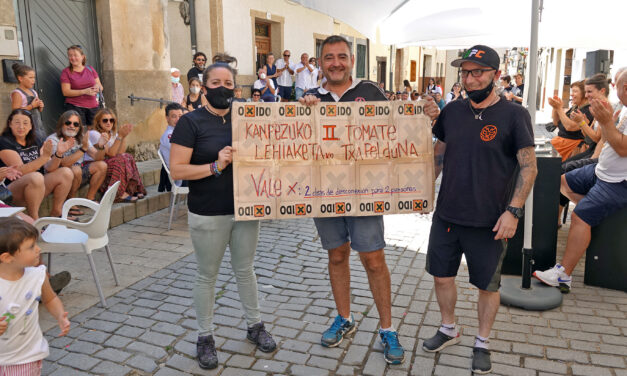 Oxido Taberna recupera en Kanpezu el concurso del afamado tomate local