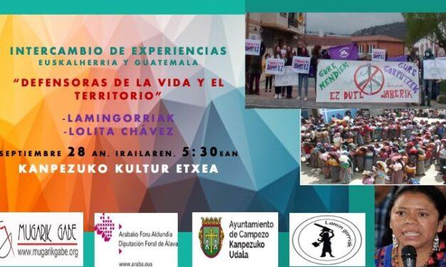 Intercambio de experiencias EuskalHerria- Guatemala