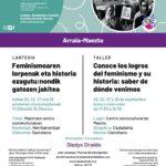 Taller-Lantegia: conoce los logros del feminismo y su historia
